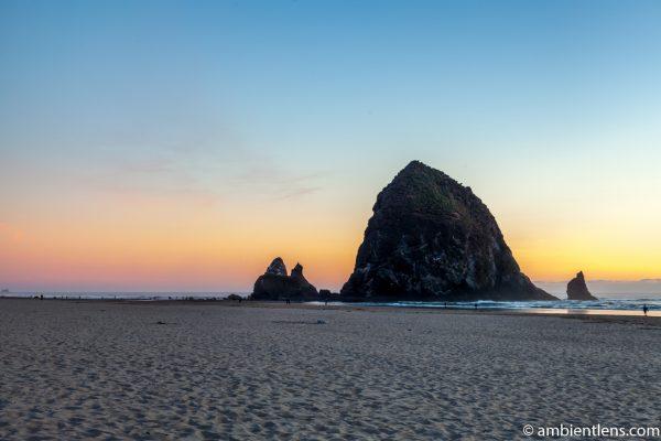 Haystack Rock at Sunset 3