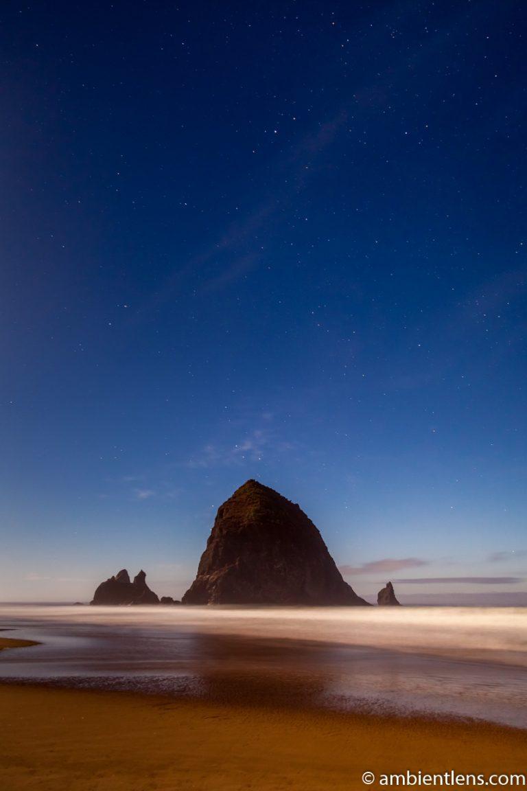 Haystack Rock Under the Stars 3
