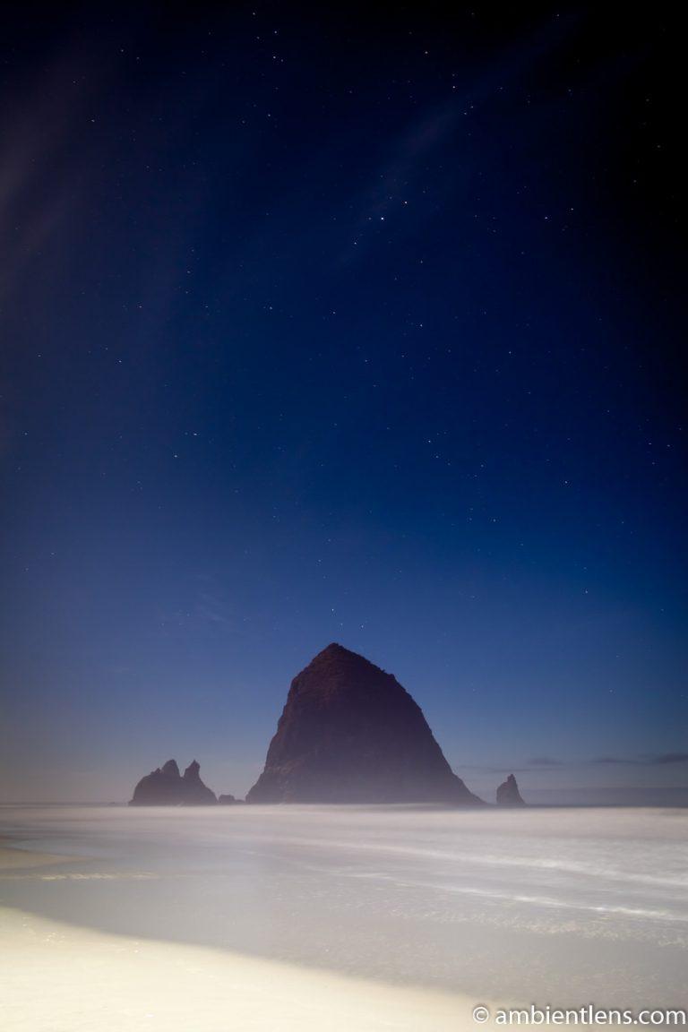 Haystack Rock Under the Stars 5