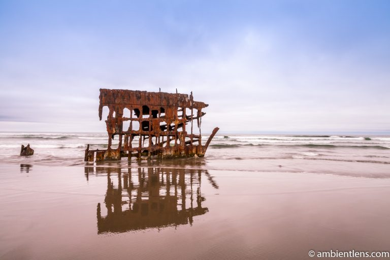 The Peter Iredale Shipwreck 1