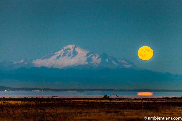 Mount Baker Moonrise 3