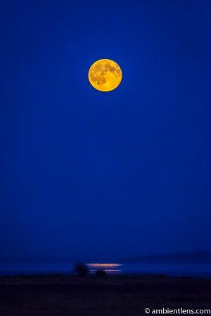 Moonrise Reflection 2