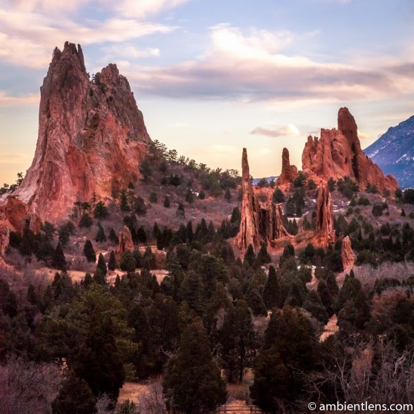 Garden of the Gods Rock Formation 2 (SQ)
