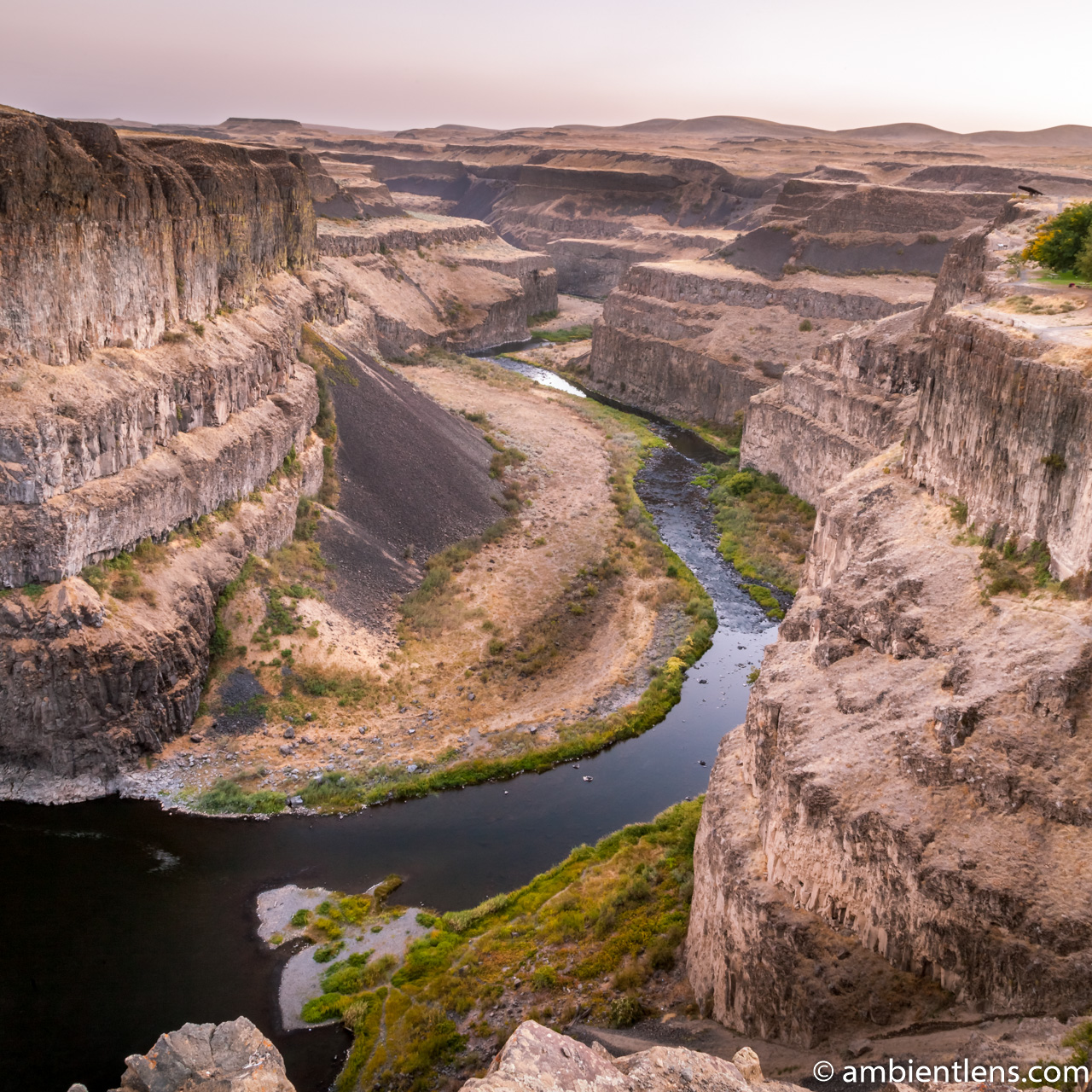The Canyon at Palouse Falls 2 (SQ)