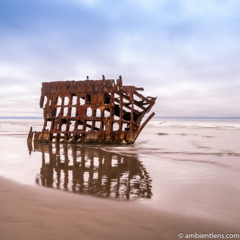 The Peter Iredale Shipwreck 2 (SQ)